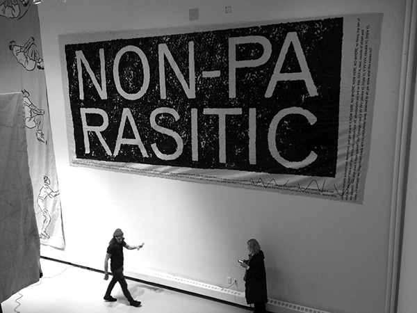 Non-parasitic design, Yale School of Art, Graphic Design Thesis Show 2016