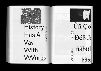 Network, A book for Nicolas Jaar latest radio based project, NYC, published by Other People and Printed Matter Inc., Designed with Jena Myung