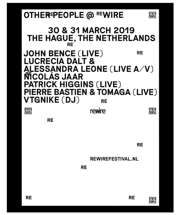 Other people at the Rewire Festival in the hague, march 2019