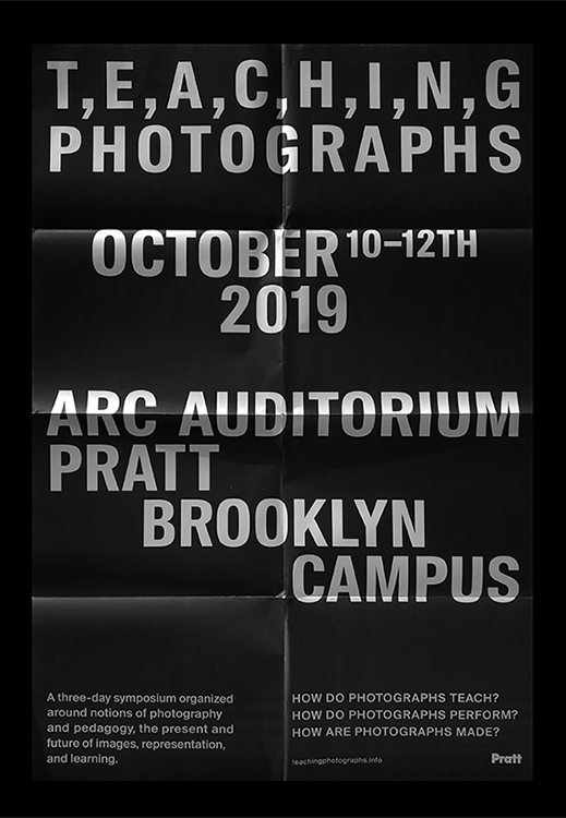 visual identity for pratt institute teaching photography designed with sasha portis, teachingphotographs.info